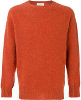 YMC brushed crew neck jumper