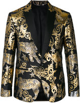 Philipp Plein 'Gold Vibe' blazer - men - Polyester/Viscose - 46
