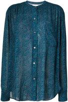 Etoile Isabel Marant Jaws printed chiffon shirt