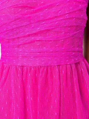 RED Valentino plumetti midi dress