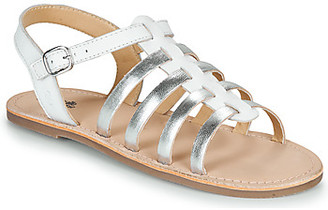 Citrouille et Compagnie MAYANA girls's Sandals in White
