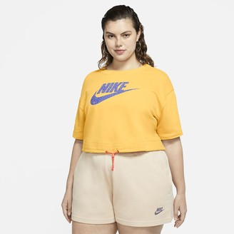 Nike Women's Short-Sleeve Top Sportswear Icon Clash