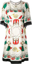 Dolce & Gabbana drum print dress - women - Silk - 40
