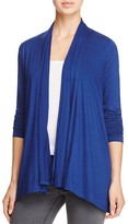 Three Dots Fran Draped Cardigan