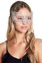 Natasha Accessories Leaf Crystal Eye Mask