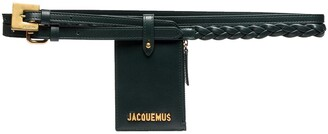 Jacquemus La Double Centre pouch belt