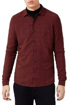 Topman Men's Jigsaw Print Shirt
