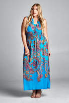 Velzera Paisley Maxi Dress