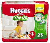 Huggies Little Movers Slip-On 23-Count Size 4 Jumbo Pack Diapers