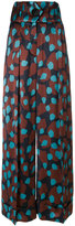 Petar Petrov patterned palazzo trousers