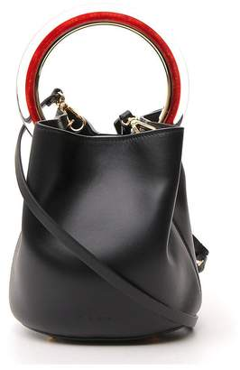Marni Pannier Top Handle Bucket Bag