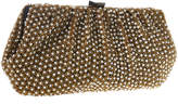 Santi Gold Beads Pearl Clutch