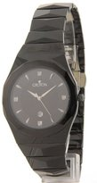 Croton Men's Swiss Movement Black Tungsten Date Crystal Dress Date Watch CN307347TGBK