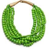 """""""Kamini"""" Beaded Necklace Green"""