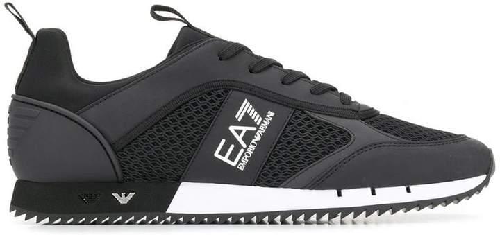 ace3280c Ea7 side logo sneakers