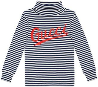 Gucci Children's print cotton turtleneck