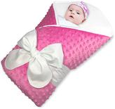 Hot Pink Minky BundleBee Baby Wrap