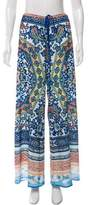 Clover Canyon Ornate Printed Wide-Leg Pants