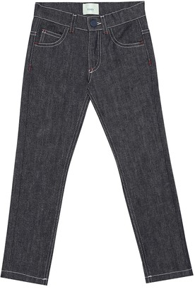 Fendi Kids FENDI MANIA straight jeans