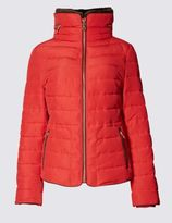 Marks and Spencer Padded Collared Neck Hooded Jacket