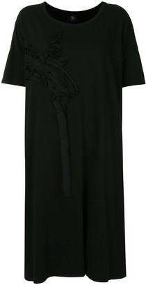 Y's Cotton Short Sleeve Mid-Length Dress