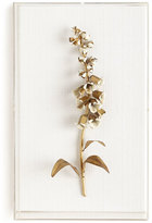 STUDY Tommy Mitchell Original Gilded Foxglove on Linen