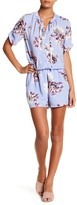 Collective Concepts Floral Tie Romper