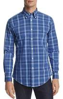 Brooks Brothers Pinpoint Plaid Slim Fit Button-Down Shirt