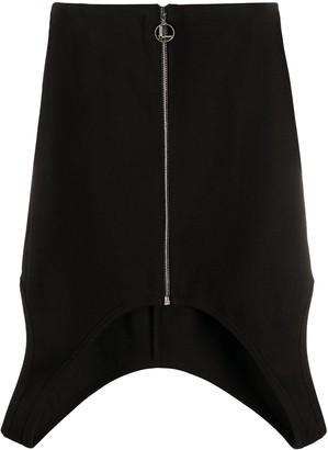 Lourdes Cut-Out Mini Skirt