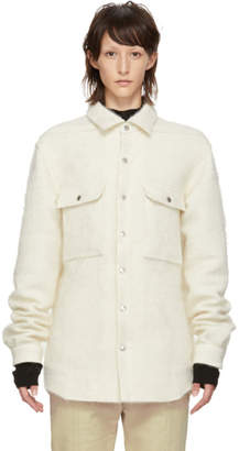 Rick Owens Off-White Outershirt Jacket