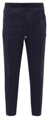 Moncler Logo-patch Technical-blend Track Pants - Navy