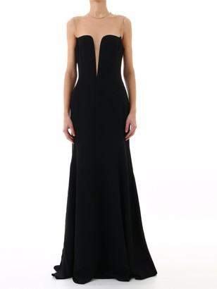 Stella McCartney Illusion Neckline Gown