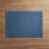 Crate & Barrel Denim Placemat