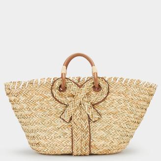 Anya Hindmarch Large Bow Basket