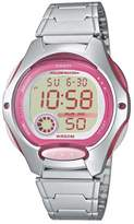 Casio Collection – Women's Digital Watch with Stainless Steel Bracelet – LW-200D-4AVEF