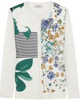 Nina Ricci Printed silk cardigan