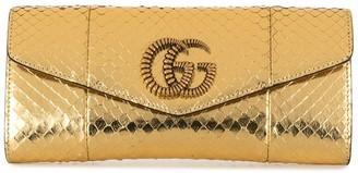 Gucci Broadway snakeskin clutch bag