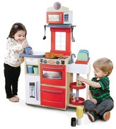 Little Tikes Cook 'n Store Kitchen - Red