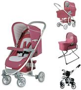 Hauck Malibu All-in-One Stroller in Violet