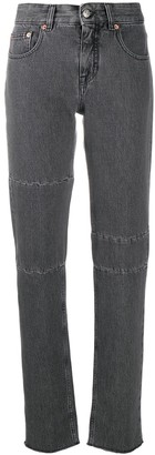 MM6 MAISON MARGIELA High-Rise Panelled Skinny Jeans
