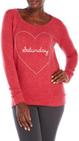 Chaser Saturday Love Fleece Pullover