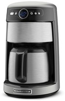 KitchenAid KCM223 12 Cup Thermal Carafe Coffee Maker Silver