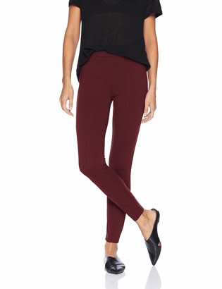 Daily Ritual Amazon Brand Womens Seamed Front 2-Pocket Ponte Knit Legging