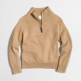 J.Crew Factory Boys' half-zip popover sweater
