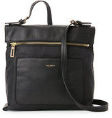 Isaac Mizrahi Black Joan Nylon Crossbody
