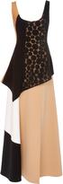 Diane von Furstenberg Scoop Neck Layered Dress