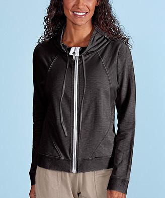 Fresh Produce Women's Non-Denim Casual Jackets BLACK - Black Ana Cowl-Neck Jacket - Women