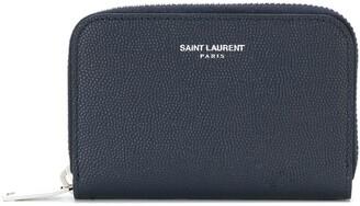 Saint Laurent Zip Around Coin Purse