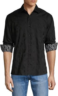 Bertigo Contrasting Long-Sleeve Shirt