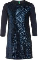 Benetton Cocktail dress / Party dress dark blue